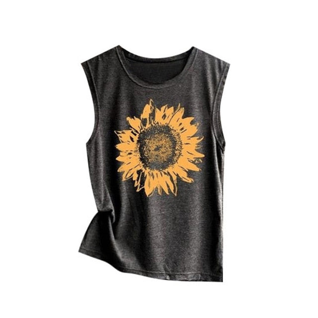 Sunflower Vintage T-Shirt - Dreaming In Scarlett