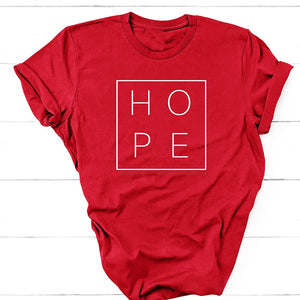 Have Hope T-Shirt - Dreaming In Scarlett