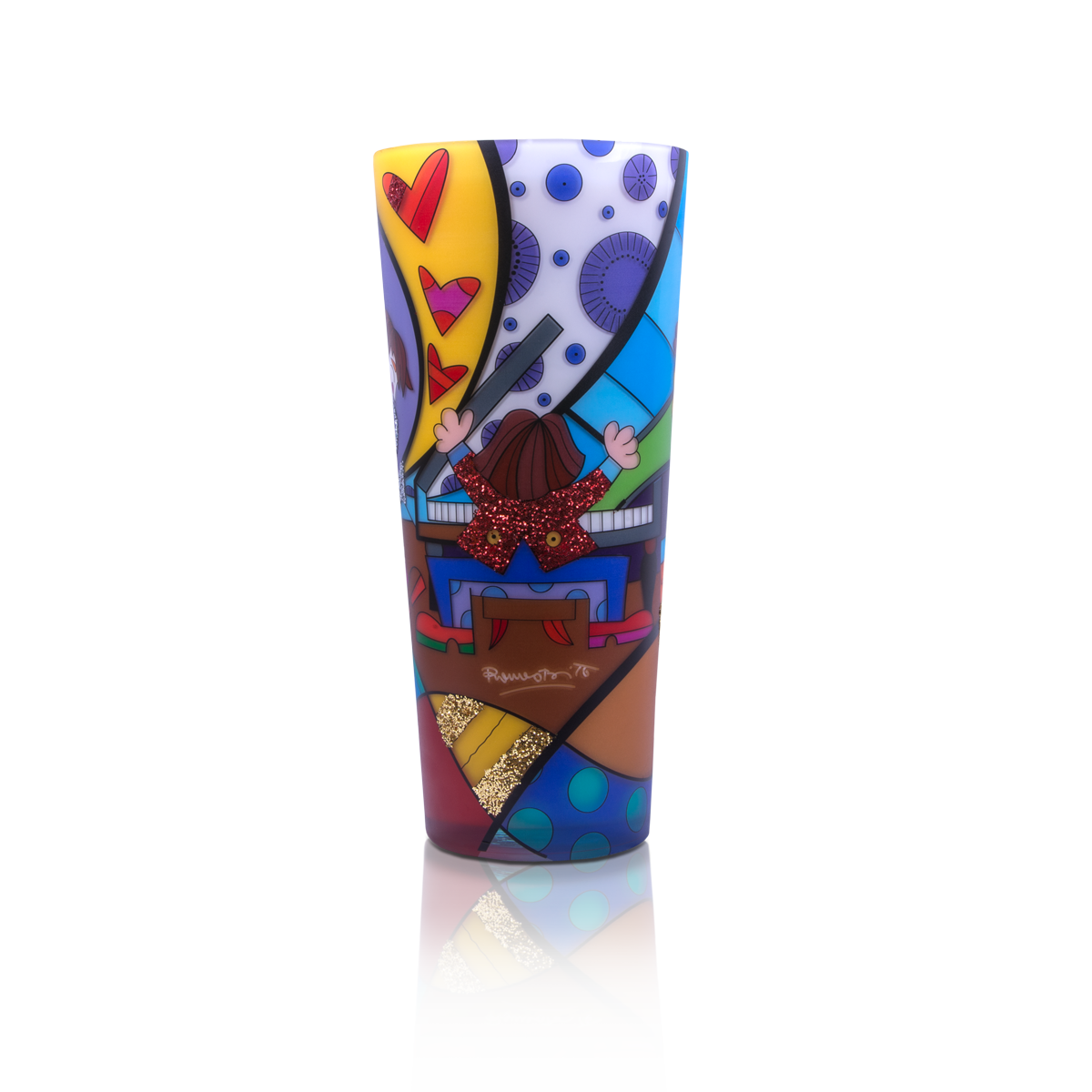 """All That Jazz"" Romero Britto® 16"" Candle"