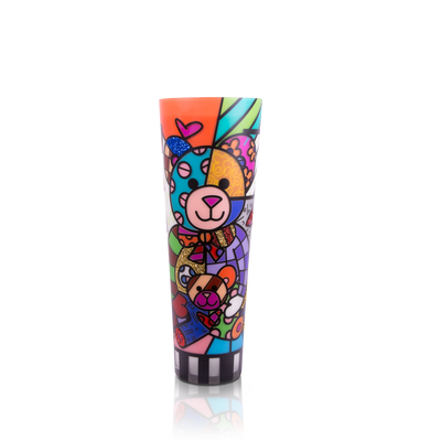 """Teddy"" Romero Britto® 24"" Candle"