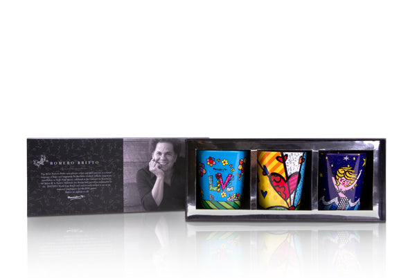 Romero Britto® Candle Gift Set