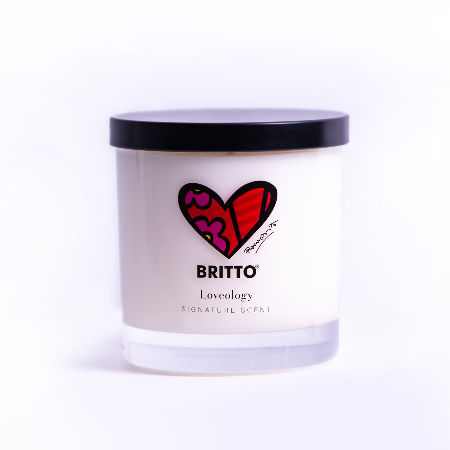 """Loveology"" Romero Britto® Candle"