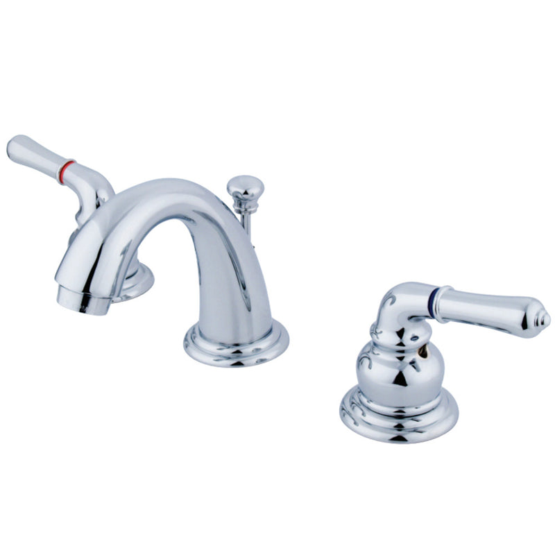 Kingston Brass GKB911 Magellan Widespread Bathroom Faucet, Polished Chrome