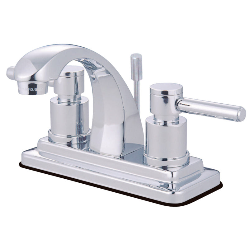 Kingston Brass KS4641DL 4 in. Centerset Bathroom Faucet, Polished Chrome