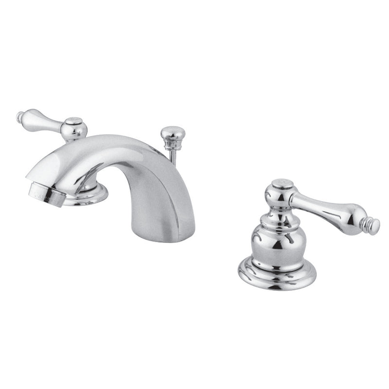 Kingston Brass GKB941AL Mini-Widespread Bathroom Faucet, Polished Chrome