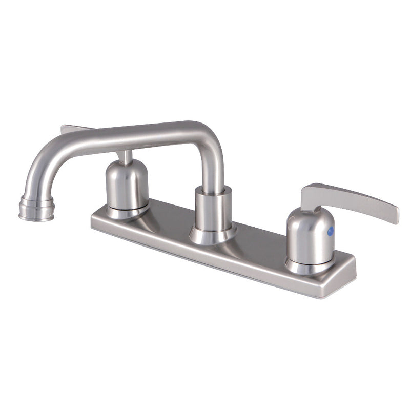 Kingston Brass FB2138EFL Centurion 8-Inch Centerset Kitchen Faucet, Brushed Nickel