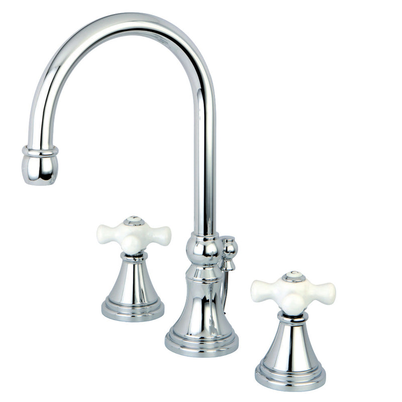 Kingston Brass KS2981PX 8 in. Widespread Bathroom Faucet, Polished Chrome