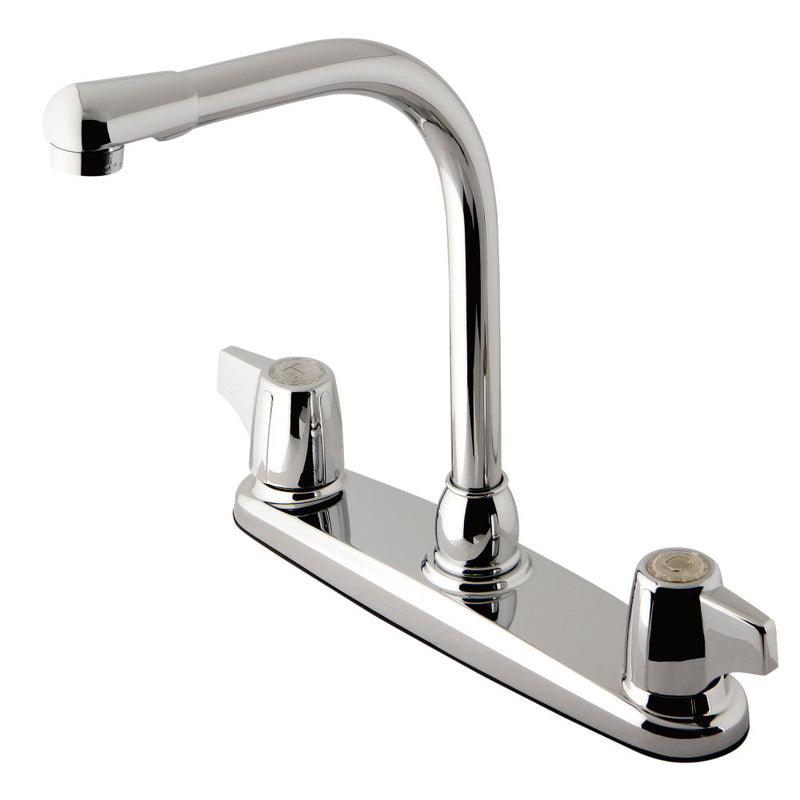 Kingston Brass KB741 8-Inch Centerset Kitchen Faucet, Polished Chrome