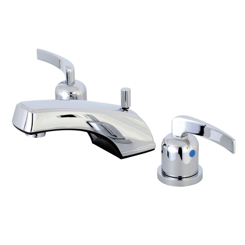 Kingston Brass KB8921EFL 8 in. Widespread Bathroom Faucet, Polished Chrome