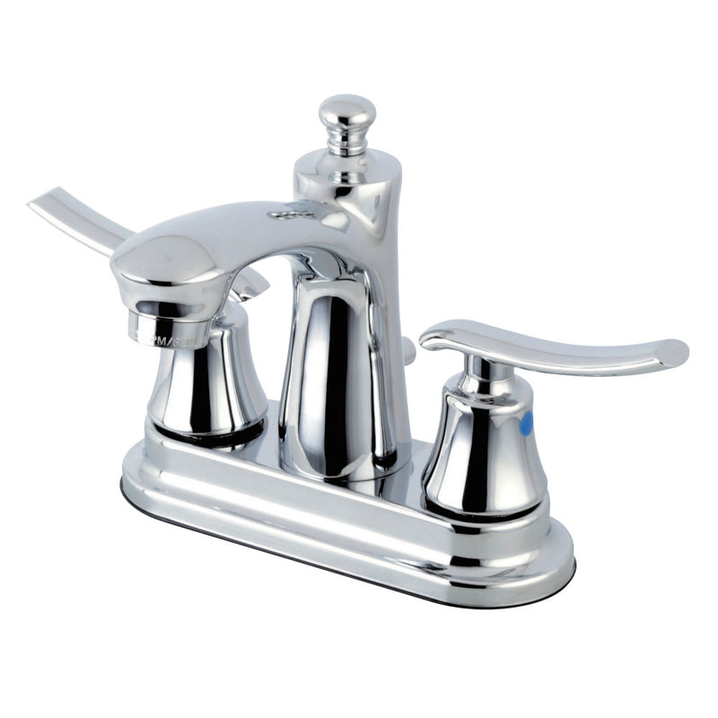 Kingston Brass FB7621JL 4 in. Centerset Bathroom Faucet, Polished Chrome