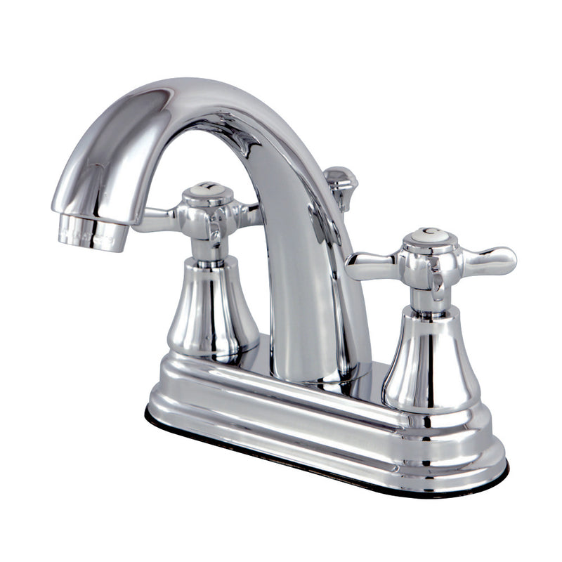 Kingston Brass KS7611BEX 4 in. Centerset Bathroom Faucet, Polished Chrome