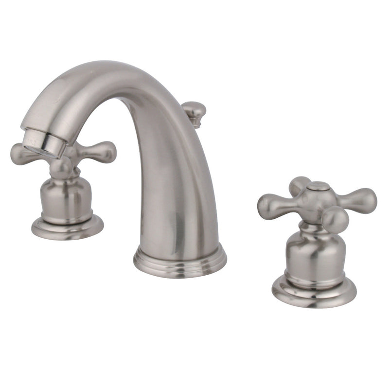 Kingston Brass GKB988AX Widespread Bathroom Faucet, Brushed Nickel