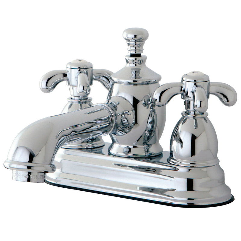 Kingston Brass KS7001TX 4 in. Centerset Bathroom Faucet, Polished Chrome