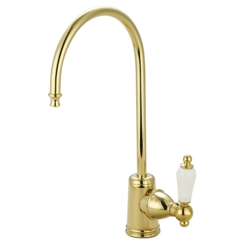 Kingston Brass KS7192PL Victorian Single Handle Water Filtration Faucet, Polished Brass