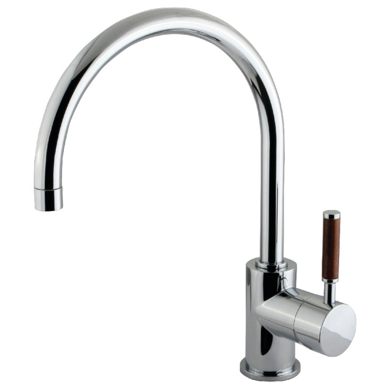 Kingston Brass KS8231DWL Vessel Sink Faucet, Polished Chrome