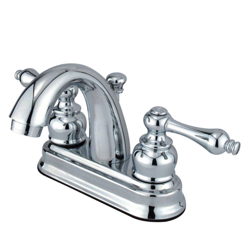 Kingston Brass FB5611AL 4 in. Centerset Bathroom Faucet, Polished Chrome
