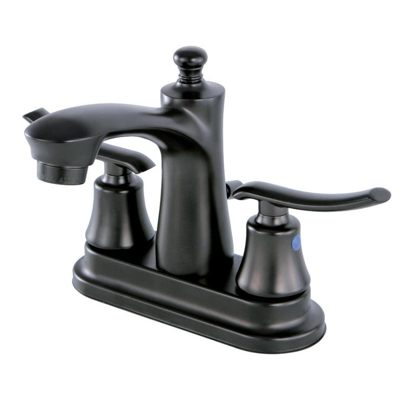 Kingston Brass FB7625JL 4 in. Centerset Bathroom Faucet, Oil Rubbed Bronze