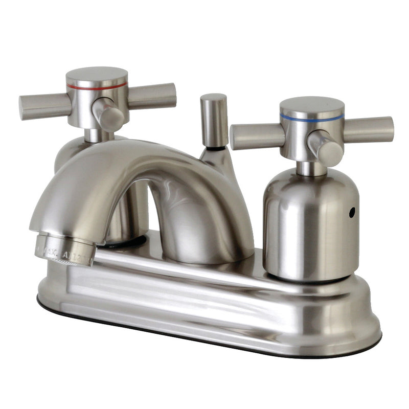 Kingston Brass FB2608DX 4 in. Centerset Bathroom Faucet, Brushed Nickel