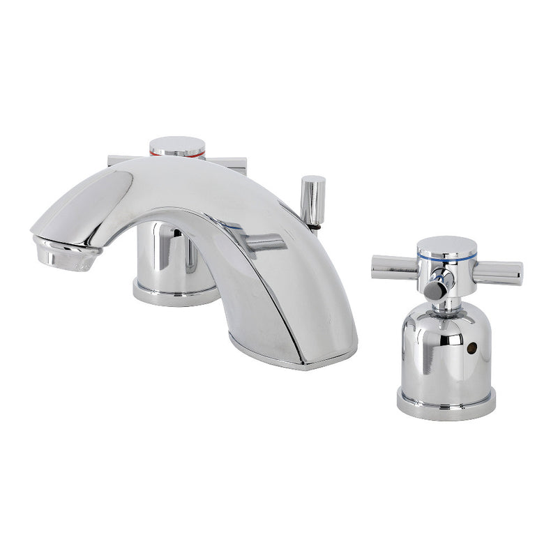 Kingston Brass FB8951DX Mini-Widespread Bathroom Faucet, Polished Chrome