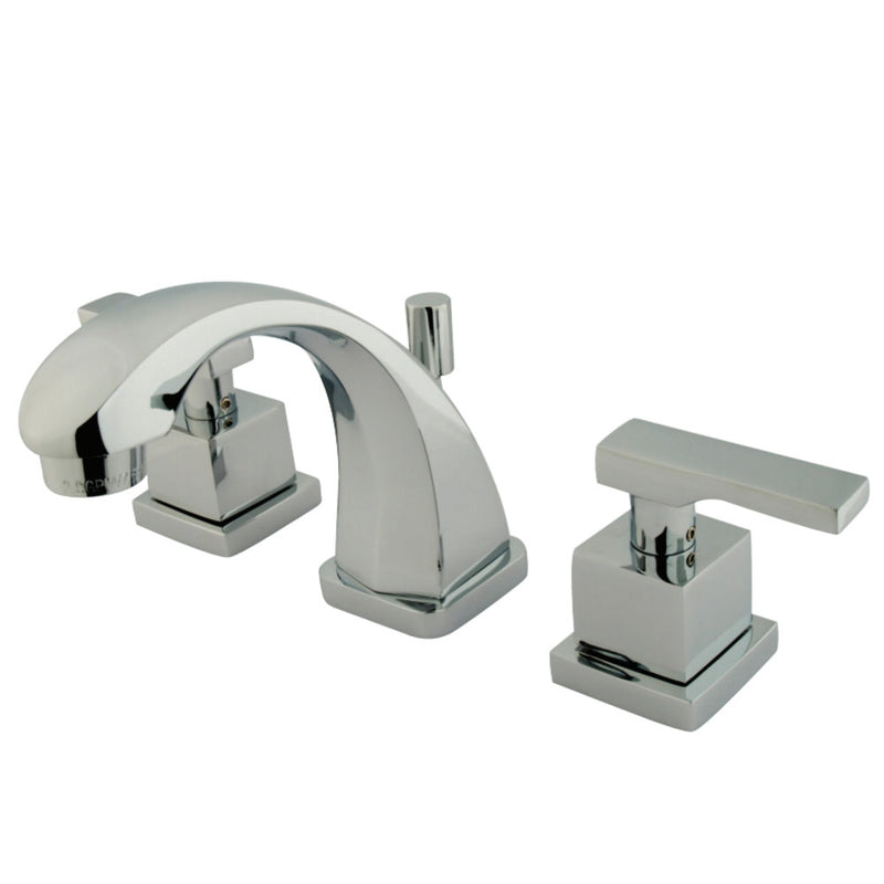 Kingston Brass KS4941QLL Executive Widespread Bathroom Faucet, Polished Chrome