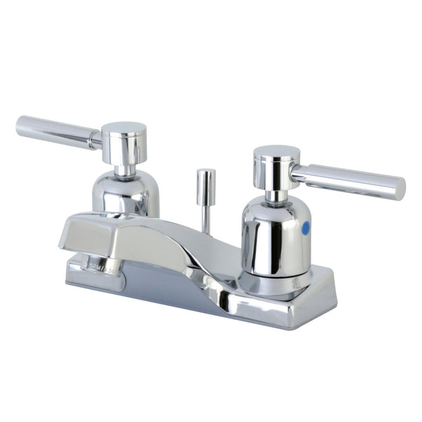 Kingston Brass FB201DL 4 in. Centerset Bathroom Faucet, Polished Chrome