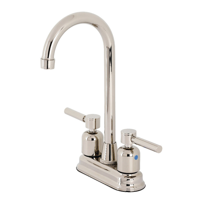Kingston Brass KB8496DL Concord Bar Faucet, Polished Nickel