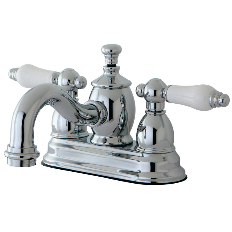 Kingston Brass KS7101PL 4 in. Centerset Bathroom Faucet, Polished Chrome