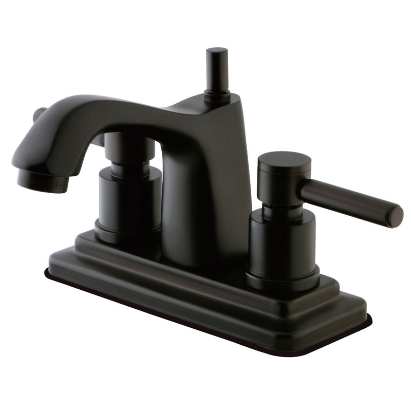 Kingston Brass KS8645DL 4 in. Centerset Bathroom Faucet, Oil Rubbed Bronze