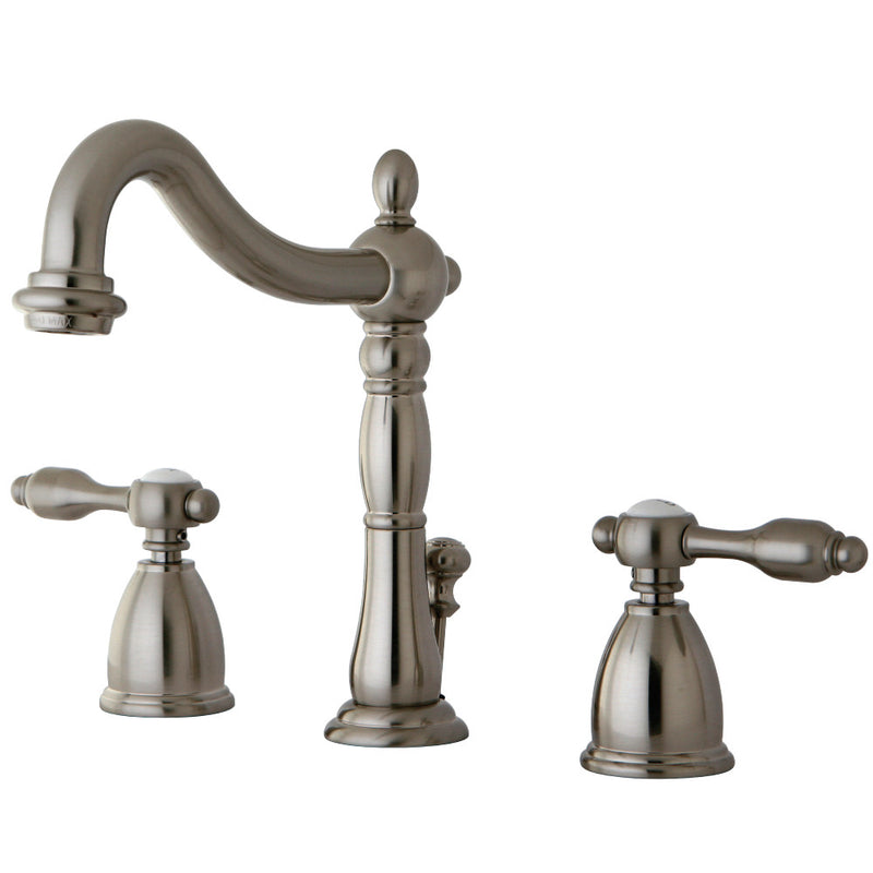 Kingston Brass KB1978TAL 8 in. Widespread Bathroom Faucet, Brushed Nickel