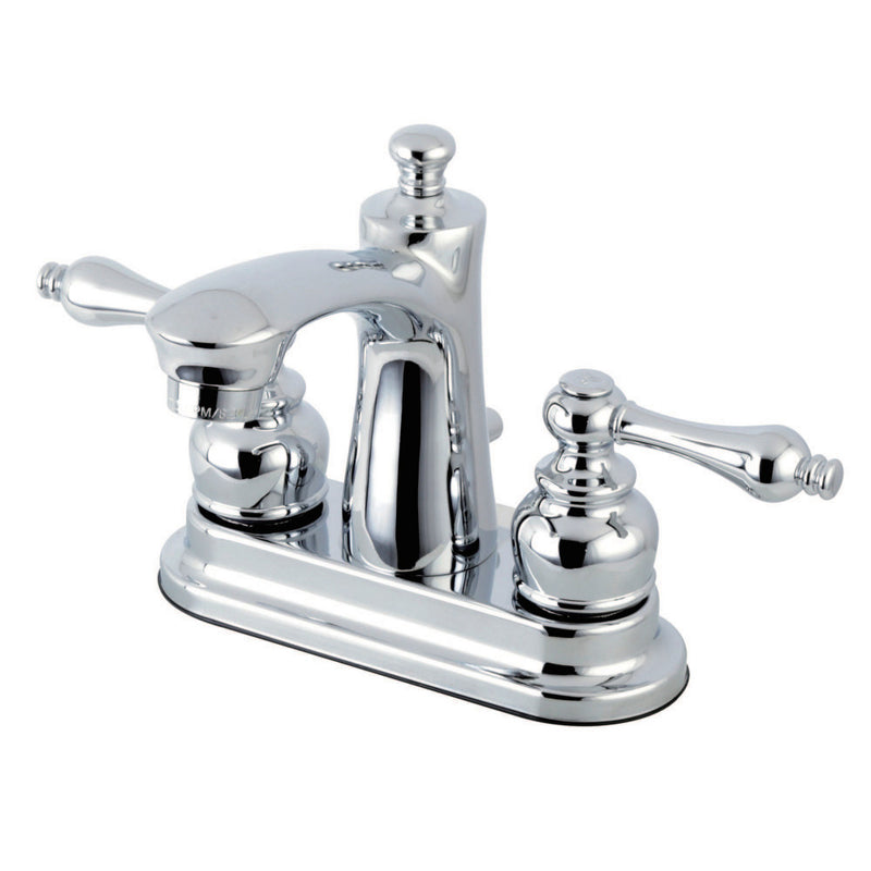 Kingston Brass FB7621AL 4 in. Centerset Bathroom Faucet, Polished Chrome