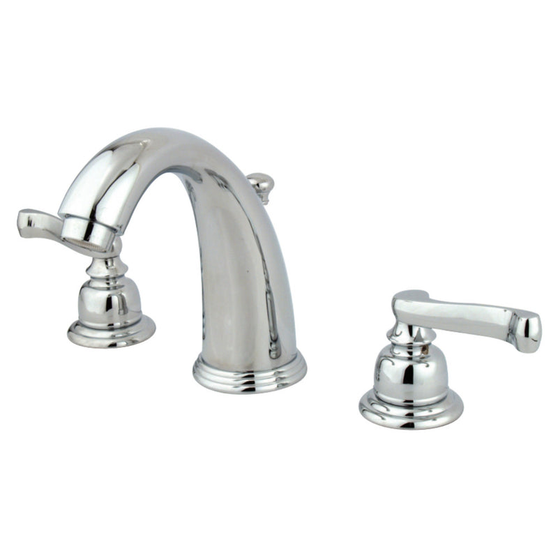 Kingston Brass GKB981FL Widespread Bathroom Faucet, Polished Chrome