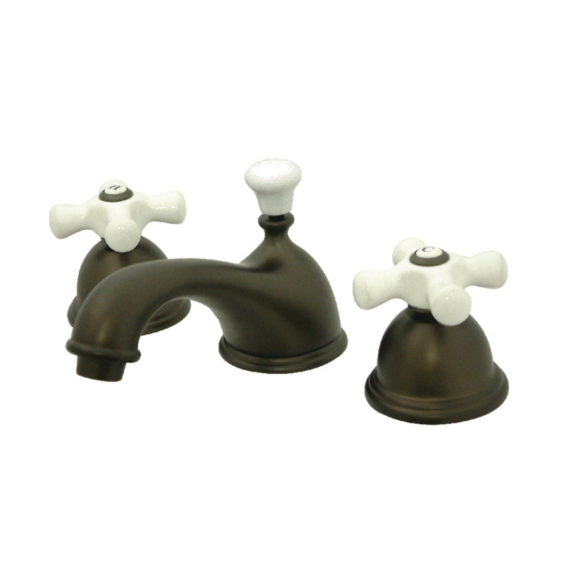 Kingston Brass CC39L5 8 to 16 in. Widespread Bathroom Faucet, Oil Rubbed Bronze