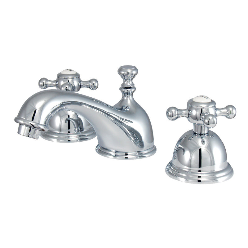 Kingston Brass KS3961BX 8 in. Widespread Bathroom Faucet, Polished Chrome