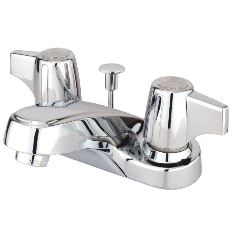 Kingston Brass KB160 4 in. Centerset Bathroom Faucet, Polished Chrome