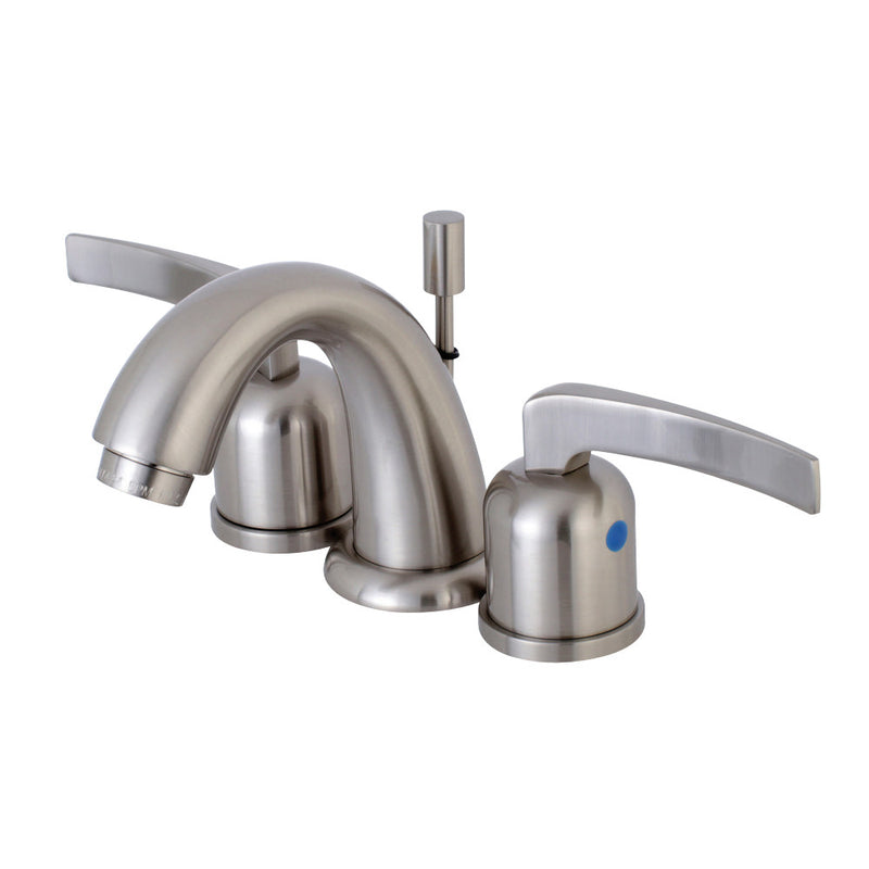 Kingston Brass KB8918EFL Centurion Widespread Bathroom Faucet, Brushed Nickel