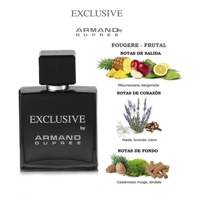 Fragancia para caballero Exclusive by Armand Dupree 80 ml