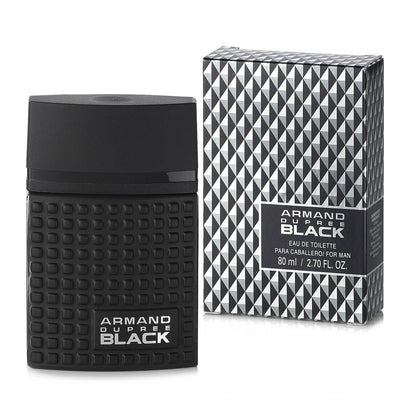 Fragancia para caballero Armand Dupree Black 80 ml