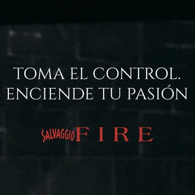Fragancia para caballero Salvaggio Fire 50 ml