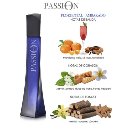 Fragancia para dama Passion 60 ml