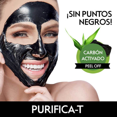 Mascarilla facial desprendible peel off PURIFICA-T 30g