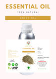 Anise Oil (Pimpinella anisum) - 1 Liter - Nutrixia Food