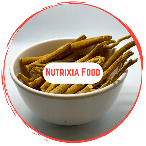 Ashwagandha Roots / अश्वगंधा जड़ें / Withania somnifera - Nutrixia Food