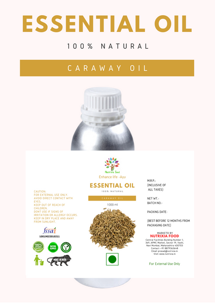 Caraway Oil - 1 Liter - Nutrixia Food