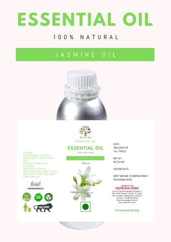 Jasmine Oil - 1 Liter - Nutrixia Food