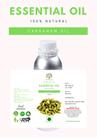 Cardamom Oil - 1 Liter - Nutrixia Food