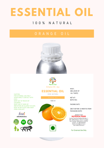 ORANGE OIL - Nutrixia Food