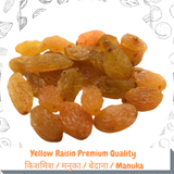 Yellow Raisin Regular Quality / किशमिश / मनुका /  बेदाना / Manuka / Munkka