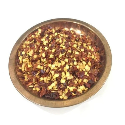 Chilli Flakes / मिरची फ्लेक्स / Mirchi Flakes - Nutrixia Food