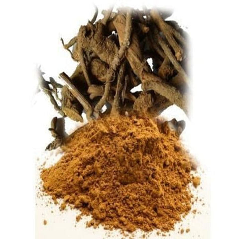 Pushkarmool Powder /  पुष्करमूल पाउडर / Pohkarmool Powder / Puskara Powder /  Inula Racemosa Powder
