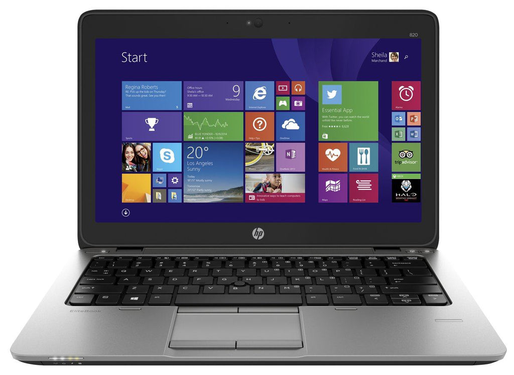 "HP EliteBook 820 G2 12"" 2.60GHz i7 5th Gen. 8GB 128GB Win 10 Grade A"